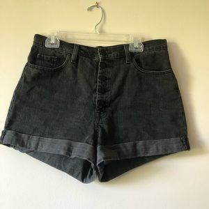 BDG urban outfitters mom high rise 5 button shorts